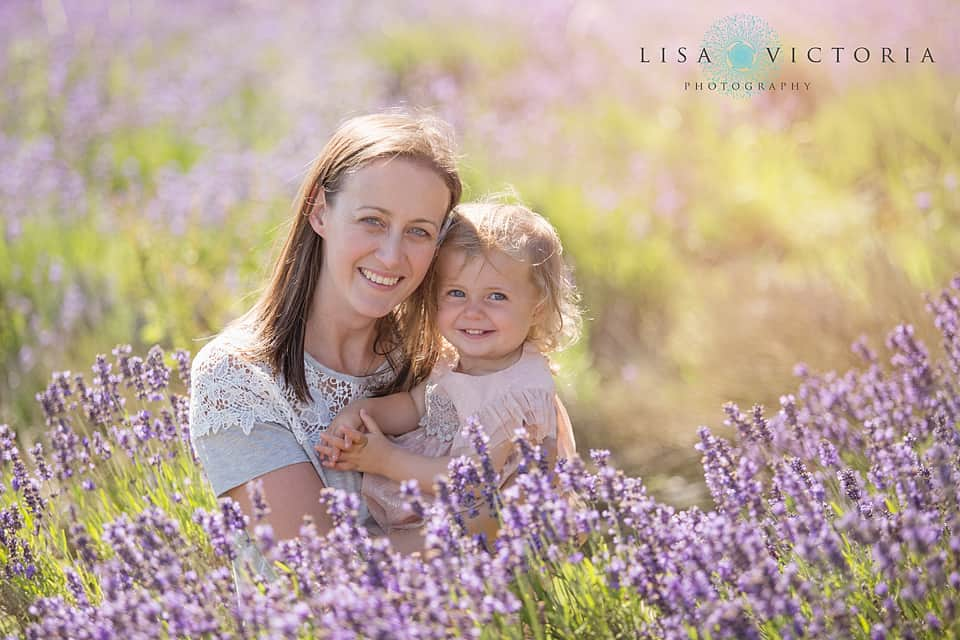 Lavender Photo Shoot Family
