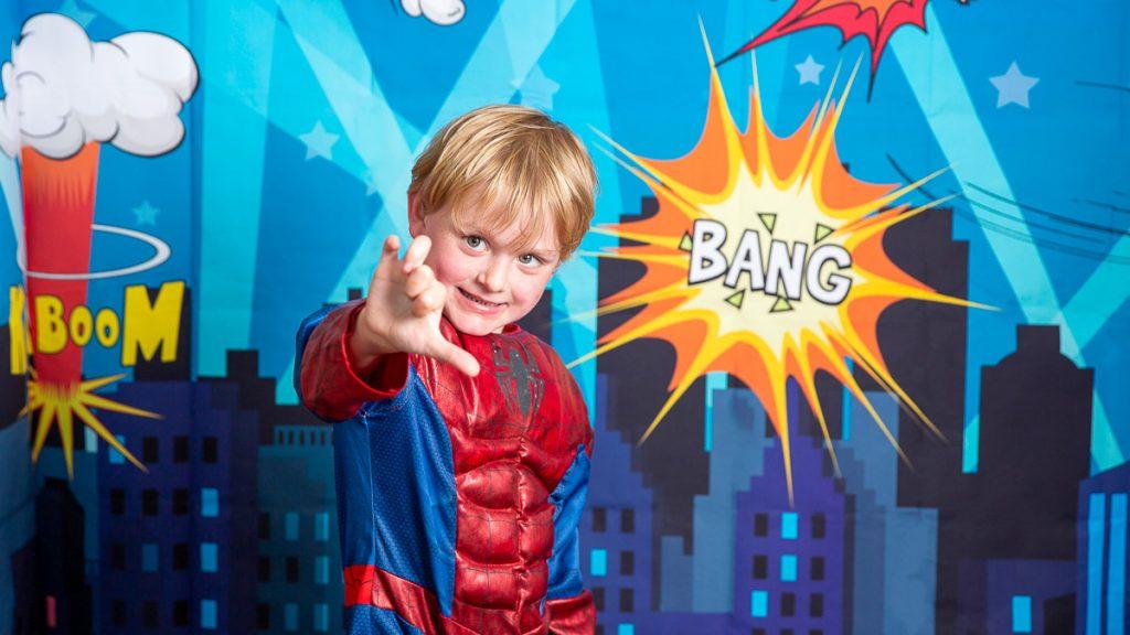 Super heroe photoshoot Bristol