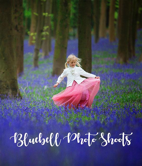 Bluebell Photo Shoot Bristol