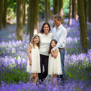 bluebell family photoshoot