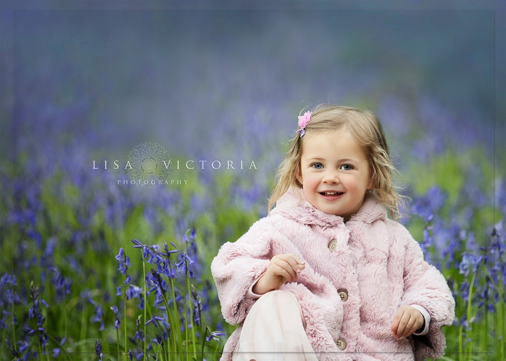 Bluebell Photo shoot somerset