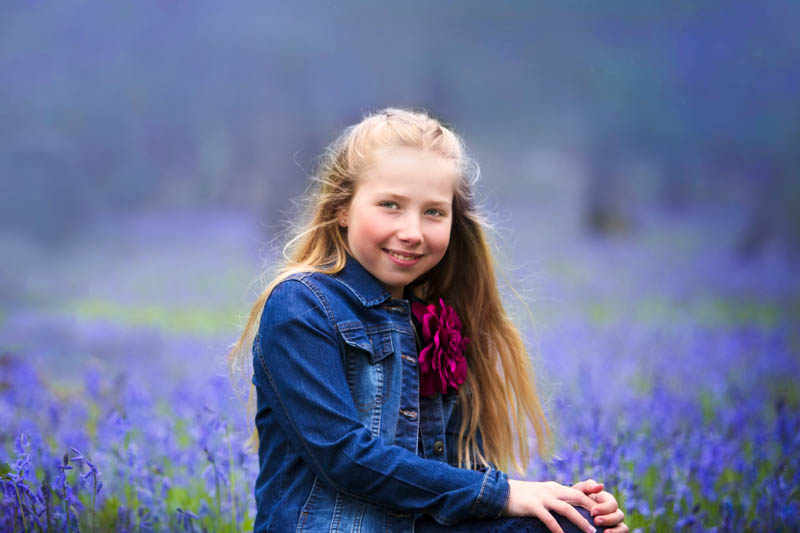 Bluebell Woods Photo Shoot