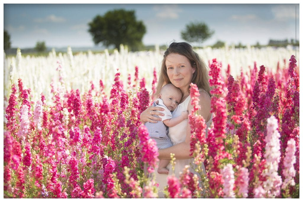 confetti flower field professional photographer