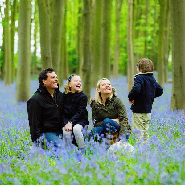 family photo shoot on location