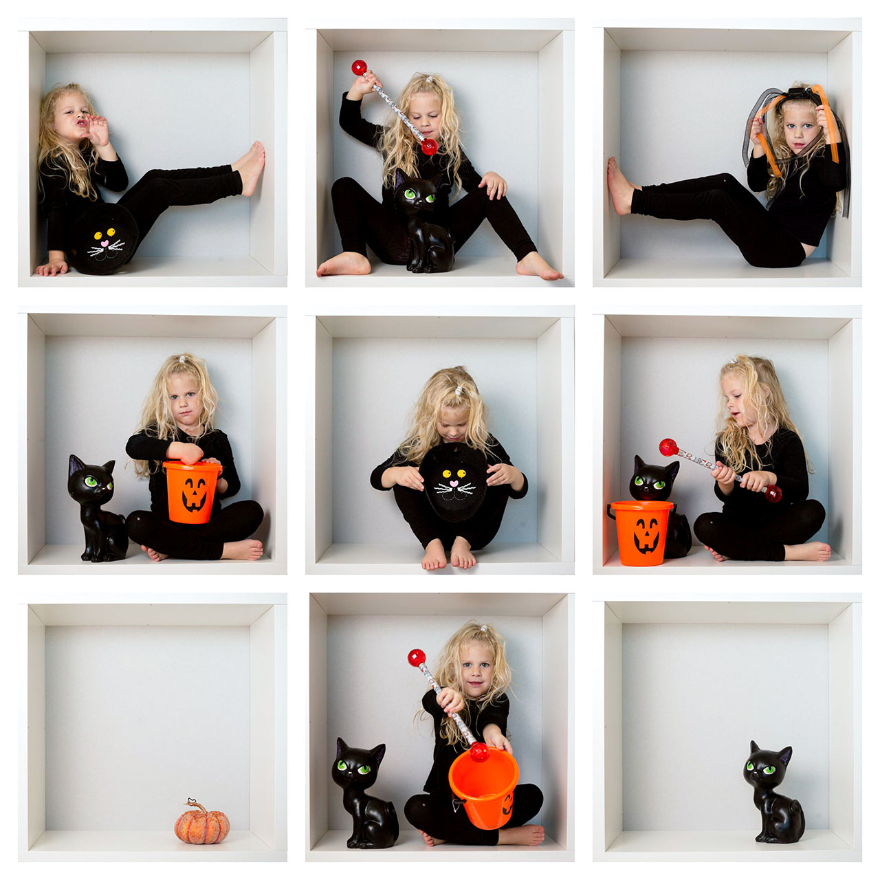 Halloween kids photo