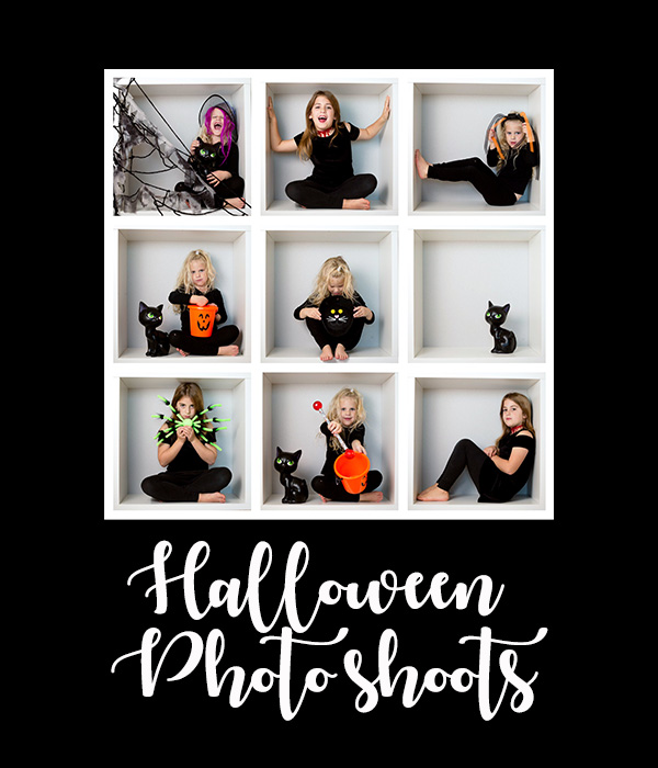 Halloween photo shoots