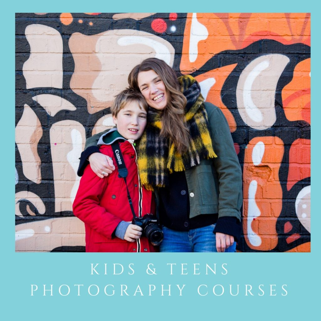 kids teen photography course bristol