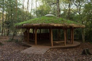 Leigh Woods roundhouse shelter