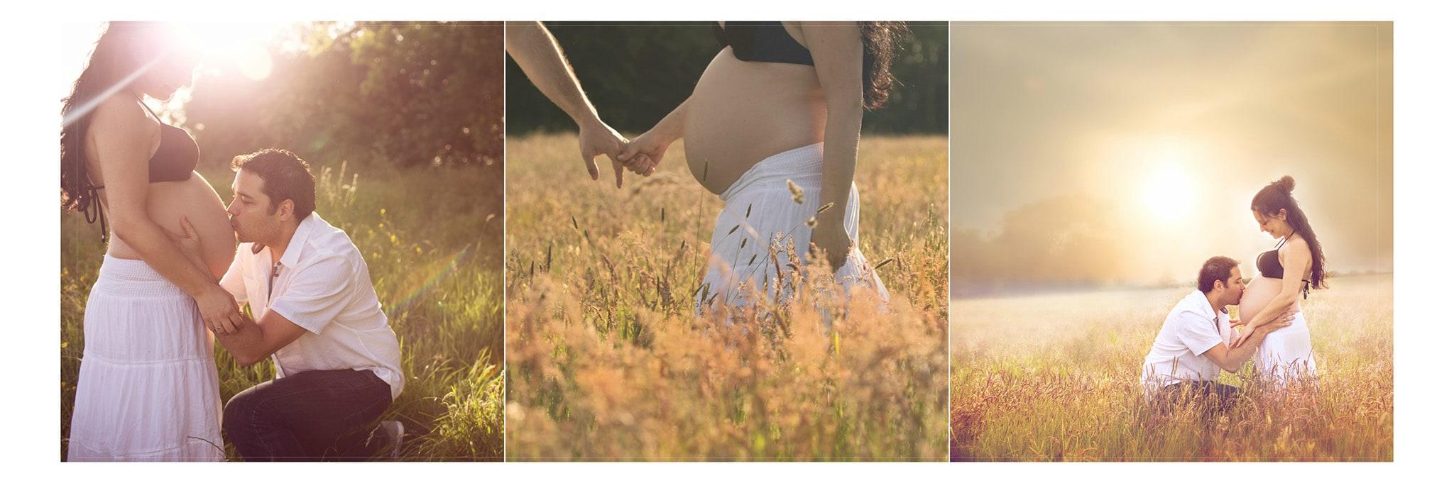 Maternity outdoor photo shoot