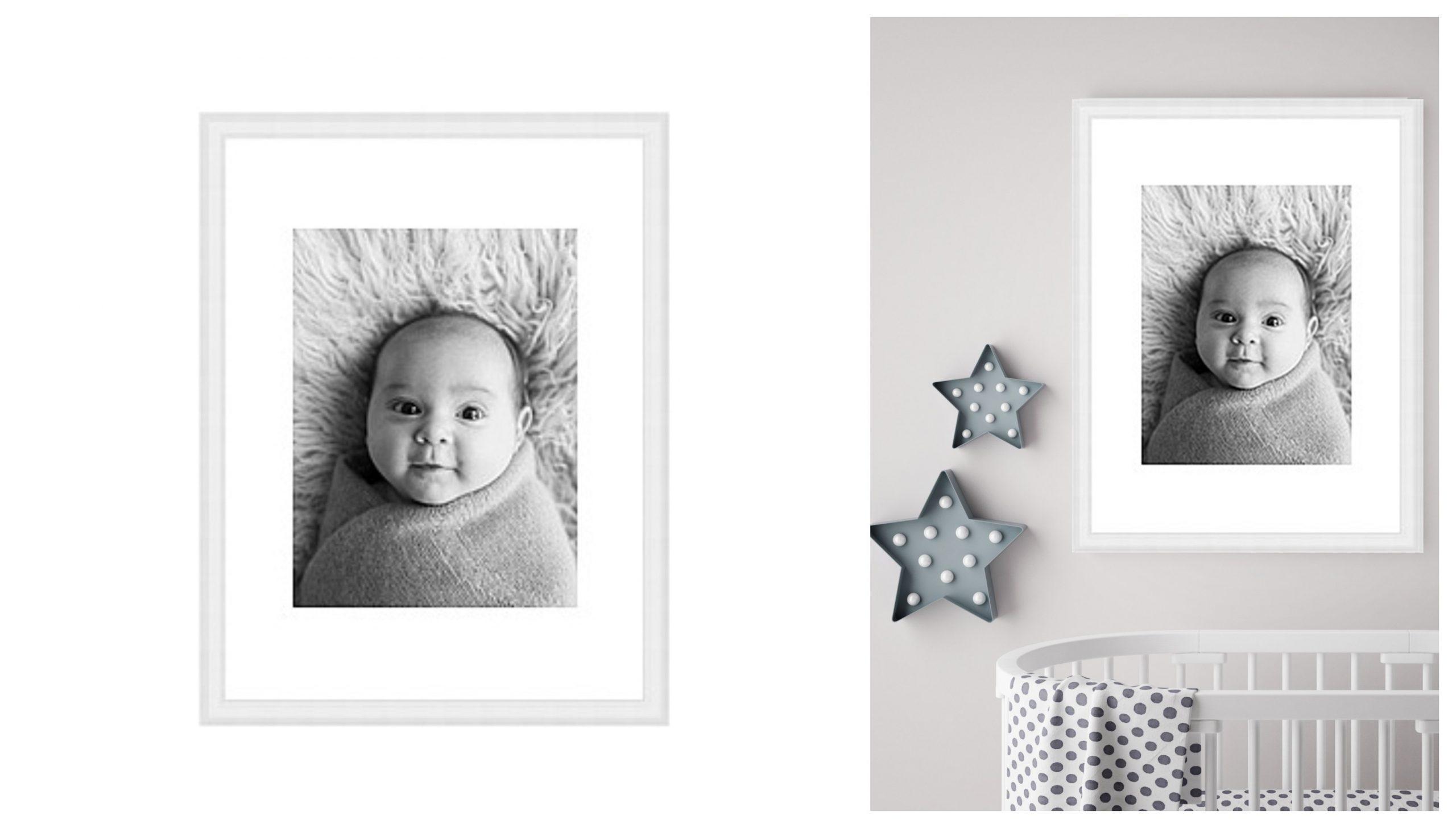 newborn baby photoshoot gift voucher