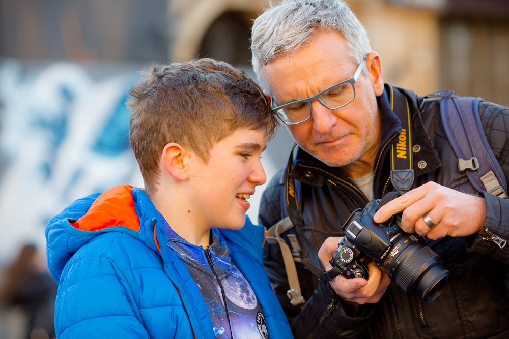 parent child courses photography