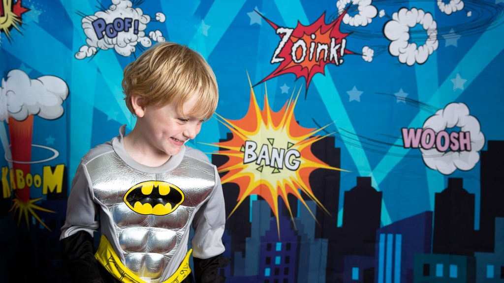 super hero photoshoot Bristol